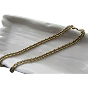 14kt Yellow Gold Vintage Unisex Link Bracelet