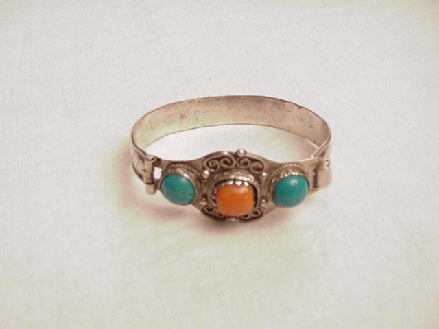 Mongolian Silver Bracelet