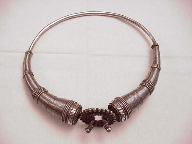 Antique Silver Pakistani Choker