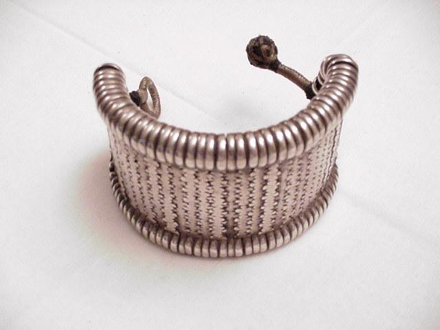 Old Rajasthan Silver Bracelet/Armlet