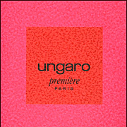 UNGARO PARIS 1993 Primavera Estate Fashion Collection Catalogue with Fabric Samples