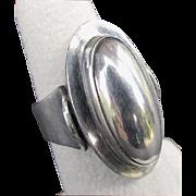 NIELS ERIK FROM, N.E. From, Denmark Modernist Sterling Silver Ring