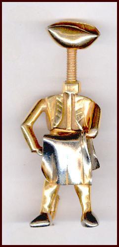 Strange Weird Industria Argentina Modernist Matador Pin