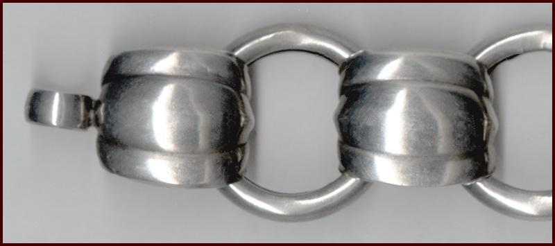 Modernist NAPIER Sterling Silver Bracelet
