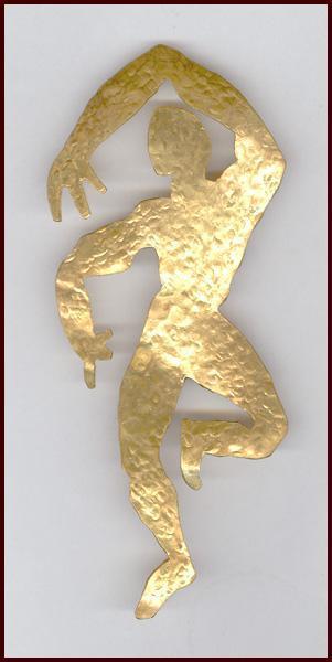 Fabulous Herve Van Der Straeten Figural Pin