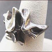 ANDREAS MIKKELSEN Denmark Modernist Sterling Silver Ring