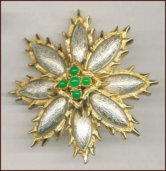 Impressive CINER Quality Fantasy Flower Pin / Brooch