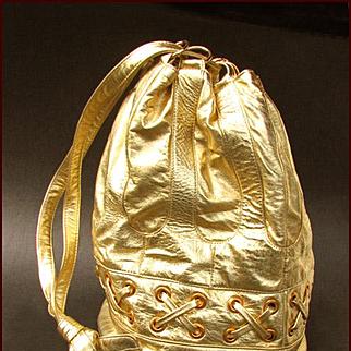 VIVA Bags of California Gold Leather Bag