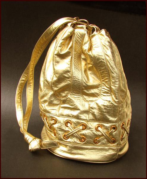 VIVA Bags of California Gold Leather Bag