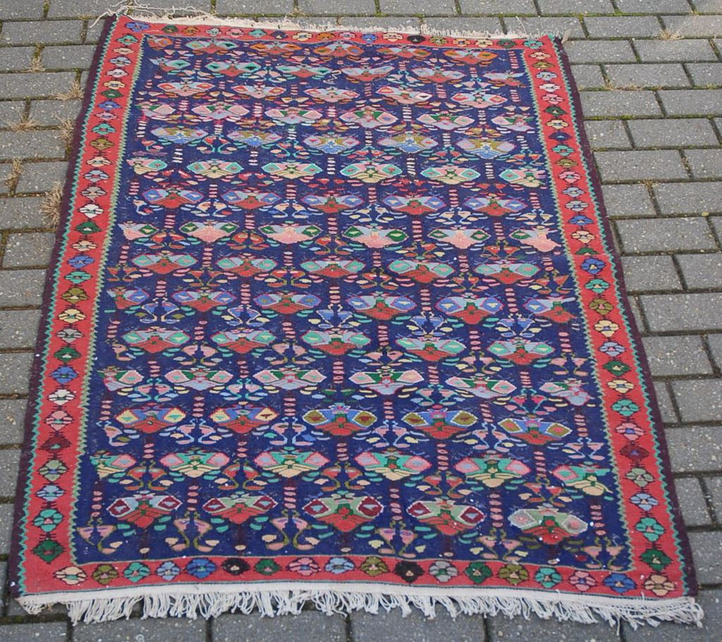Beautiful Vintage Persian Carpet Rug Beautiful Colors