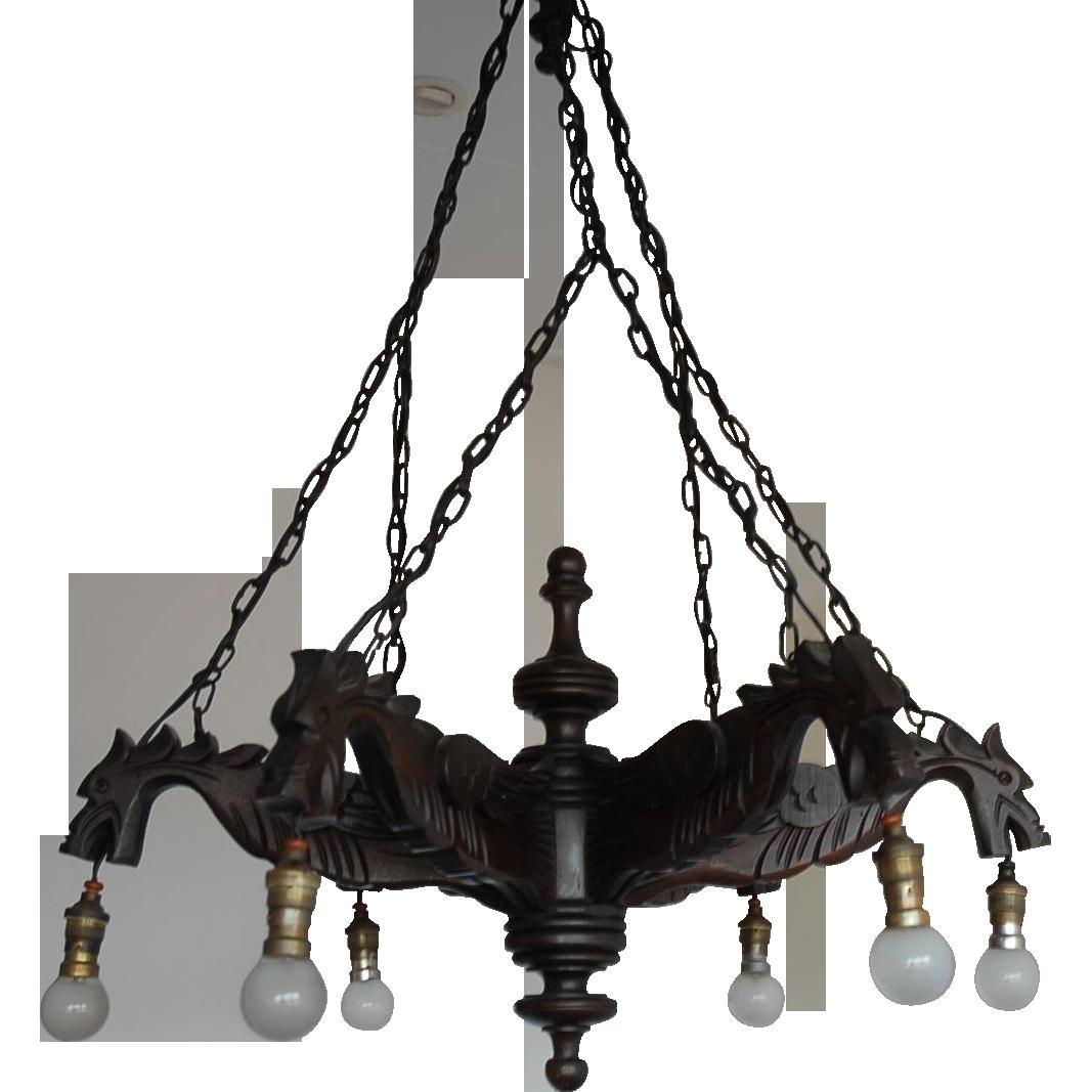 antique chandeliers for sale australia. g eous fine carved wood gothic art renaissance style 6 light griffin gargoyles dragon chandelier antique chandeliers for sale australia u