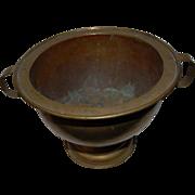 Antique Brass Wine Cooler