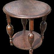 Vintage End - Coffee Bottle Leg Table