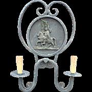 Vintage Knight - Castle Design Sconce