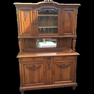French Walnut Sideboard Cabinet Cupboard Furniture