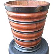 Mahogany Dutch early 19th Century Peat Bucket