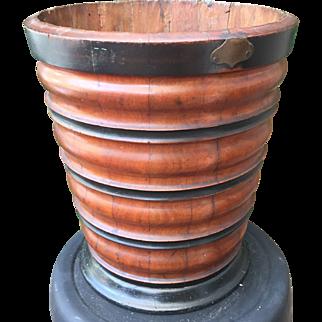 Mahogany Dutch early 19th Century Peat Bucket