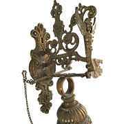 Brass Wall Mounted Gong Bell