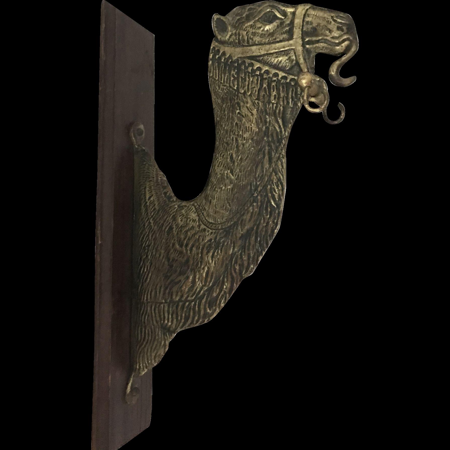 Camel Brass Wall Mounted Dinner Gong