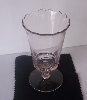 Fabulous Vintage Glass Spooner Mint Condition!
