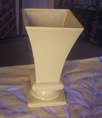 Vintage Robinson Ransbottom Pottery Vase Marked RRPCO