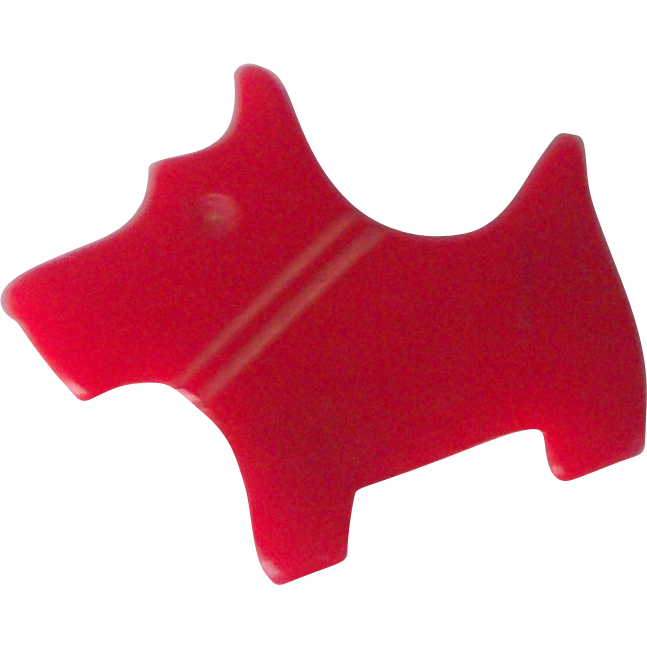 Vintage BAKELITE Pencil Sharpener Scottie Dog Pencil Sharpener Carved Mint Condition!