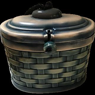 Vintage Child's Celluloid Basket Purse