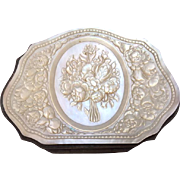 Antique French Mother of Pearl Carved Coin Purse