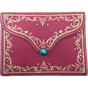 LAST CHANCE!  Antique French Late 18th Century Pocketbook Purse