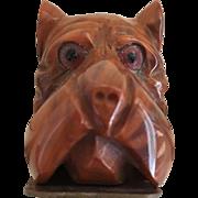 Vintage 1930's Bakelite Dog Head Purse