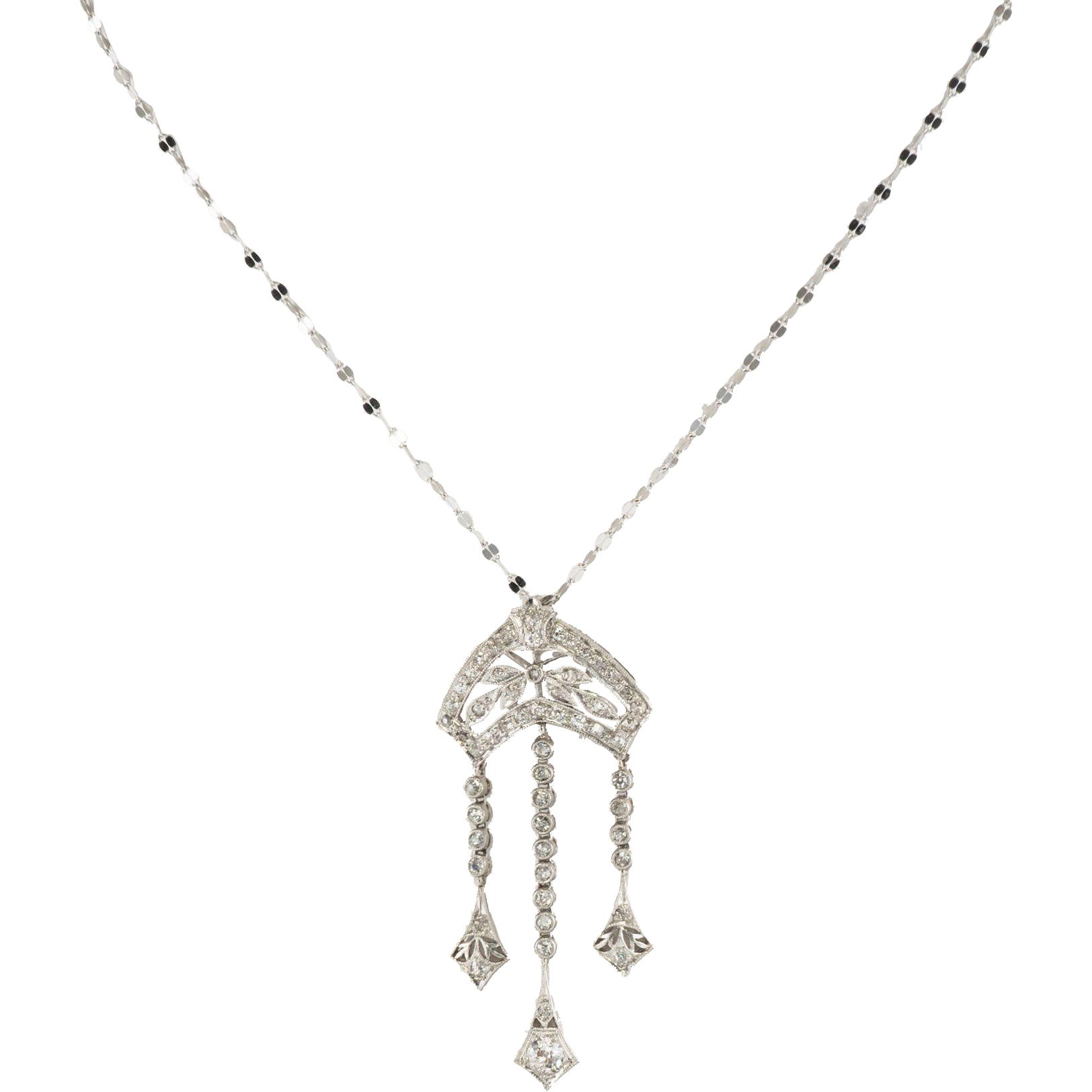 White Gold Diamond Pendant Settings