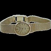 Patek Philippe Solid 18K Solid Gold Manual Wind Ladies Watch Bracelet 50.03 gr