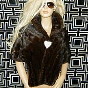 Harris Furs~Stunning Vintage Autumn Haze Mink Fur Stole/Wrap/Cape/Shawl