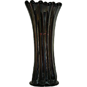 Westmoreland, Amethyst Carnival Glass, Corinth Vase