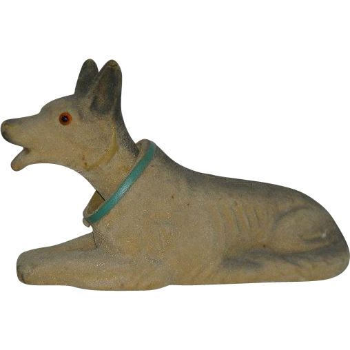 1950's, German Shepherd, Bobble Head/Nodder Bank