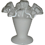Small, Fenton, Silvercrest Vase