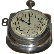 Waltham, Size 37, Eight Day, Car/Travel Clock