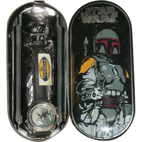 Limited Edition, Star Wars, Boba Fett, Fossil Watch