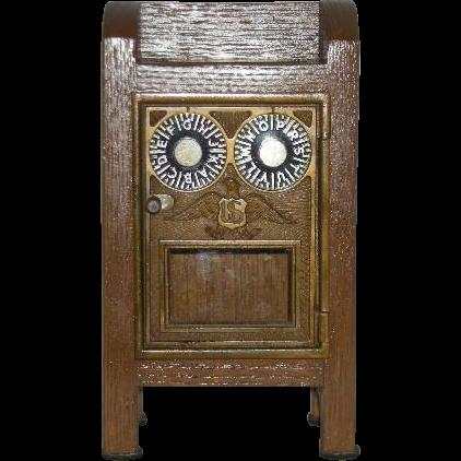 Post Office, Lock Box Door, Mailbox Bank