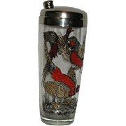 Ring Neck Pheasant, Whiskey Shaker