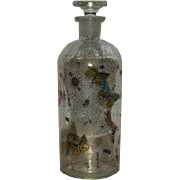 Mid Century, Hand Painted, Signed Georges Briard, Apothecary Bottle
