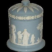 Light Blue, Wedgwood, Cigarette Jar