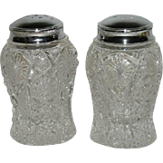 Pair, Imperial, Octagon Salt & Pepper Shakers