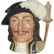 Large, Royal Doulton, Athos, Toby Mug