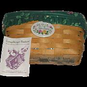 Longaberger, Vanity Basket