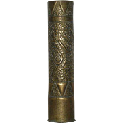 WWI, 75-80mm, Trench Art Artillery Shell Vase