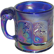Imperial, Cobalt Blue, Aurora Jewels, Child's Nursery Rhyme Mug