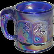 Imperial, Cobalt Blue, Aurora Jewels, Child's Nursery Rhyme Mug