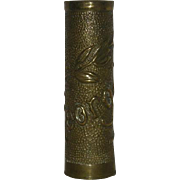 75 MM, Georgette, Trench Art Artillery Shell