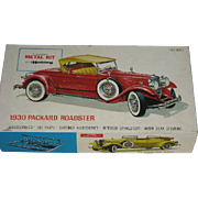 Hubley, 1930 Packard Roadster, Metal Kit Model